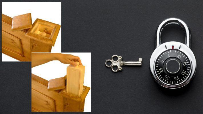جاساز مخفی در خانه