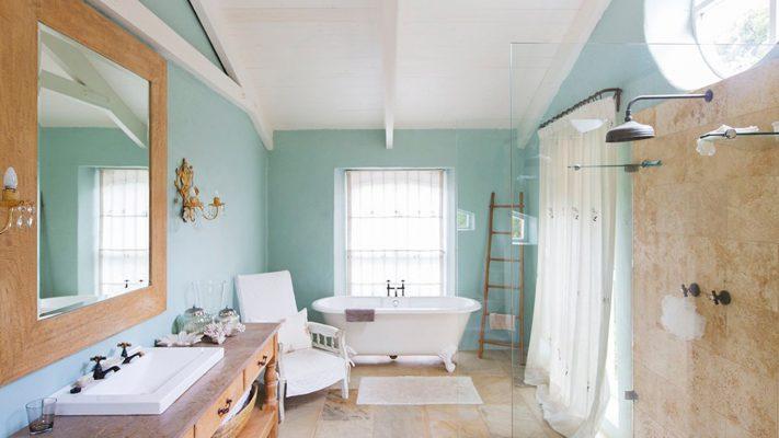 رنگ های پاستلی حمام