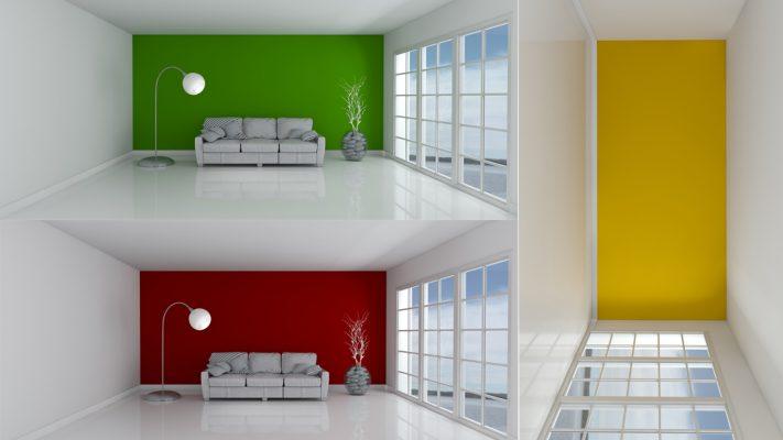 انتخاب رنگ در دکوراسیون خانه