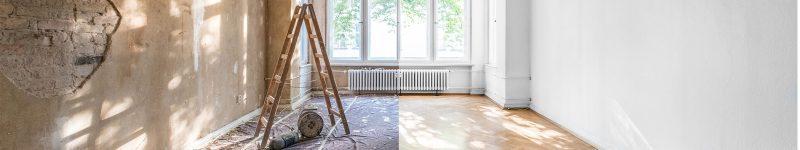 مراحل بازسازی دکوراسیون خانه
